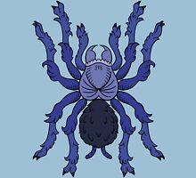 Heraldic Tarantula (Cobalt Blue) Unisex T-Shirt