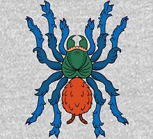 Heraldic Tarantula (Greenbottle Blue) Unisex T-Shirt