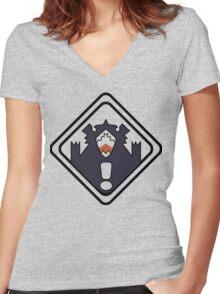 Kiznaiver - Hajime Tenga Women's Fitted V-Neck T-Shirt