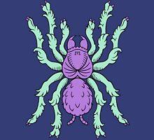 Heraldic Tarantula (Aqua / Lavender 2) Unisex T-Shirt