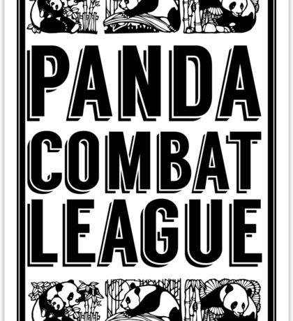PANDA COMBAT LEAGUE Sticker