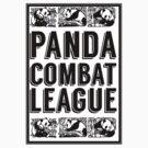 PANDA COMBAT LEAGUE by SixPixeldesign