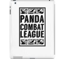PANDA COMBAT LEAGUE iPad Case/Skin