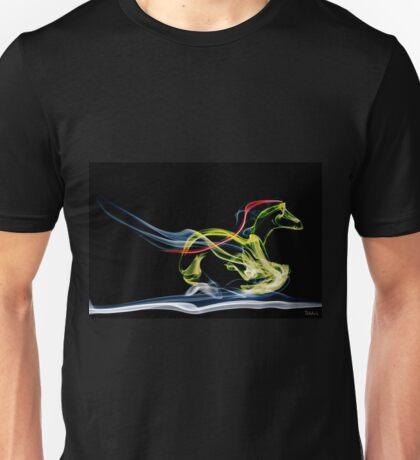 The running mustang Unisex T-Shirt