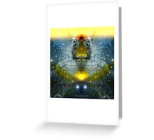 Space Odyssey Series Greeting Card