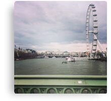 London Thames Overlook Canvas Print