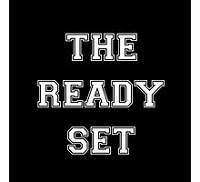 The Ready Set Name Logo Photographic Print