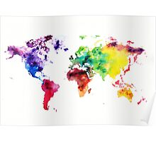 Colourful World I Poster