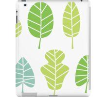 Designer leaves collection iPad Case/Skin