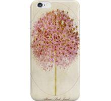 Allium Pink Jewel iPhone Case/Skin