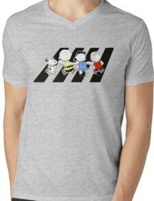 Peanuts Gang Mens V-Neck T-Shirt