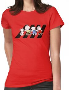 Peanuts Gang Womens Fitted T-Shirt