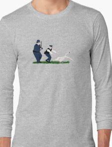 Swan cops Long Sleeve T-Shirt