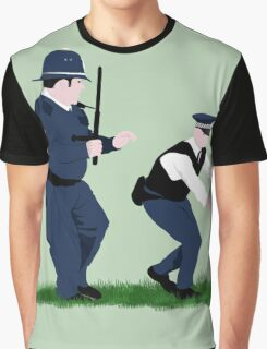Swan cops Graphic T-Shirt