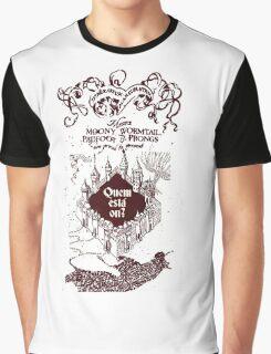 Marauder Map Graphic T-Shirt