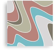 silly waves  Canvas Print