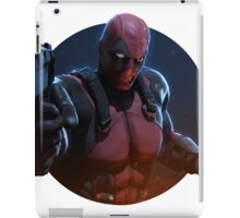 batman, ded pul iPad Case/Skin