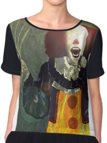 Pennywise Women's Chiffon Top