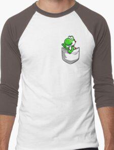 Pocket Yoshi Men's Baseball ¾ T-Shirt