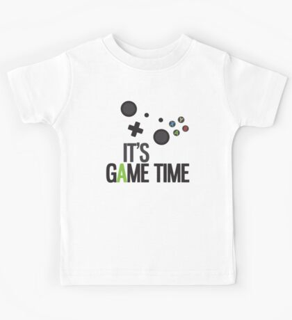 It's Game Time Kids Tee