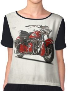 The 1953 Indian Chief Chiffon Top