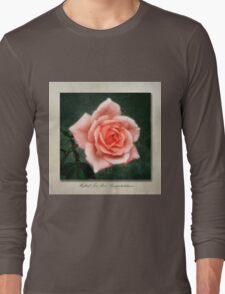 Tea Rose, Congratulations Long Sleeve T-Shirt