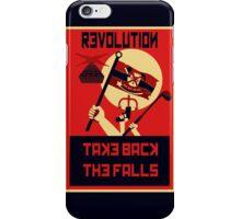 Revolution! Take Back the Falls iPhone Case/Skin