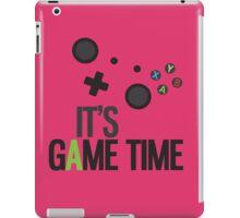 It's Game Time - PINK iPad Case/Skin