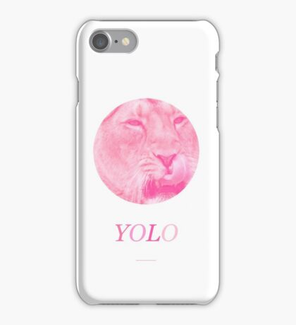 YOLO Lions iPhone Case/Skin