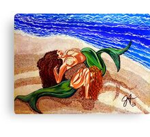 Mermaids Spent Canvas Print