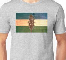 The Doug Flag on Cedar Unisex T-Shirt