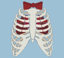 Time Lord Have Two Hearts - Doctor Who Skellington Kids Tee