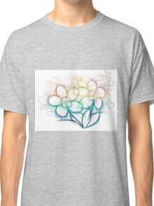 Colorful flowers Classic T-Shirt