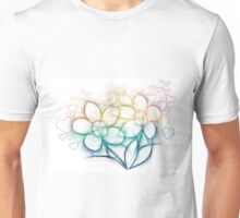 Colorful flowers Unisex T-Shirt