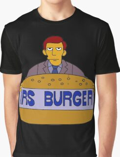 Internal Revenue Service Burger Graphic T-Shirt