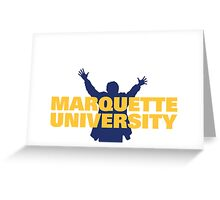 Marquette University Greeting Card