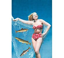 Caught in the net Photographic Print