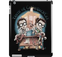 Truth Or Consequences iPad Case/Skin