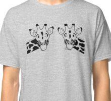 Giraffe couple Classic T-Shirt