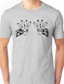 Giraffe couple Unisex T-Shirt