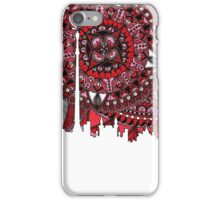 Zentangle City Moscow iPhone Case/Skin