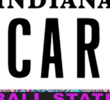 Ball State License Plate Sticker