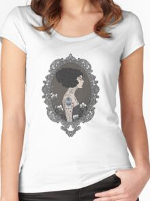 La Femme Tattoue Women's Fitted Scoop T-Shirt