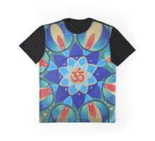Om Lotus Graphic T-Shirt
