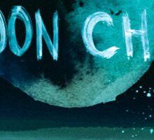 stay wild moon child dark) Sticker