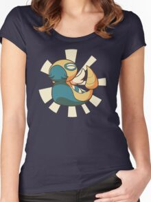 Mighty Dunsparce! Women's Fitted Scoop T-Shirt
