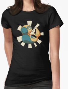 Mighty Dunsparce! Womens Fitted T-Shirt