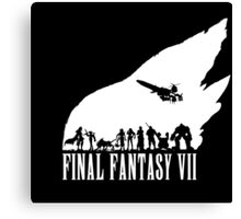 Final Fantasy VII - The meteor Canvas Print