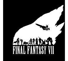 Final Fantasy VII - The meteor Photographic Print
