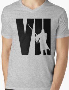 FF7 - Sephiroth - Black Mens V-Neck T-Shirt